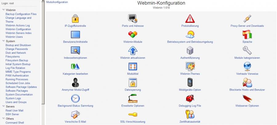 Webmin - NetGuides.eu